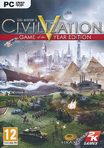 Civilization V: Game Of The Year Edition Pc Dvd