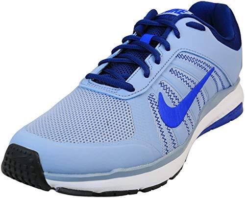 Nike Dart 12 MSL Men's Mesh Inset Athletic Running Sneakers Blue Size 8.5