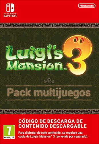 Pack multijuegos de Luigi's Mansion 3 | Nintendo Switch - Código de descarga