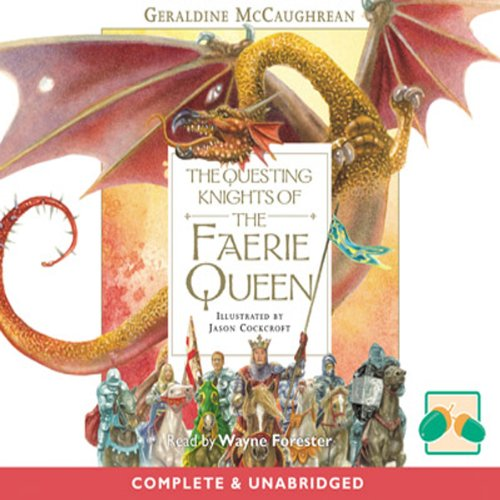 『The Questing Knights of the Faerie Queen』のカバーアート