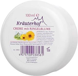 Kräuterhof Creme mit Ringelblume Körper Creme Gesichtscreme Balsam Lotion, 100 ml