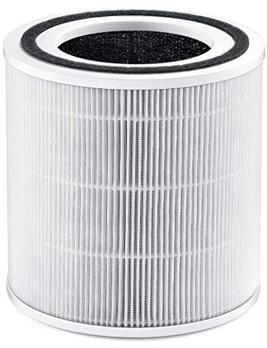 TaoTronics TT-AP005 Luftfilter Ersatzfilter, 3-in-1-H13 HEPA Filter Schwarz