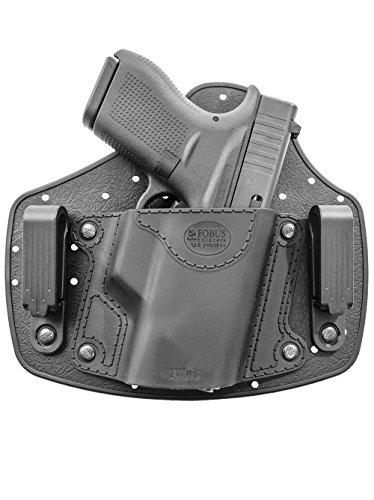 Fobus IWBS verdeckte Trage IWB Im Inneren der Gürtel universal Pistolenhalfter Glock 42 / Beretta Nano/Sig P938, P238 / Walther CCP, P22, PK522, PK380 / Smith & Wesson S&W Bodyguard/Ruger LCP, LC9