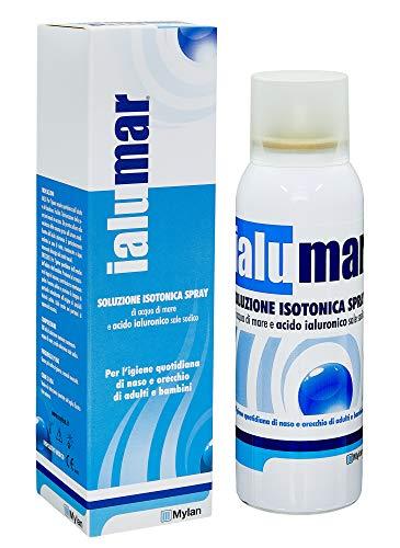 Ialumar Spray Isotonico, Contenente Soluzione Di Acqua Di Mare Isotonica, Acido Ialuronico E Sale Sodico - 100 Ml