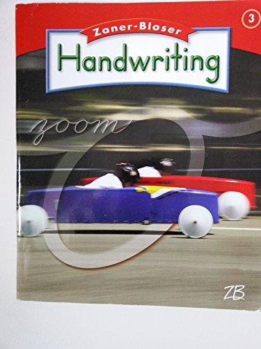 Zaner-Bloser Handwriting; Grade 3