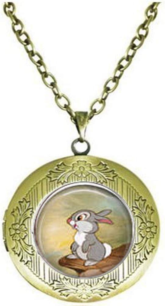 Bambi & Thumper Locket Necklace