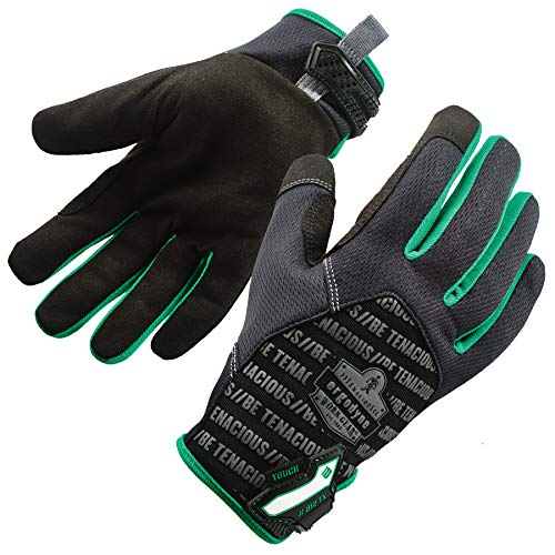 ProFlex 812TX Work Glove, Touch Screen, Breathable Comfort, XX-Large, Black
