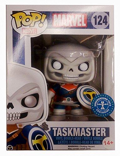 Funko - Pdf00005601 - Pop - Marvel - Taskmaster 124 - Noir/Gris