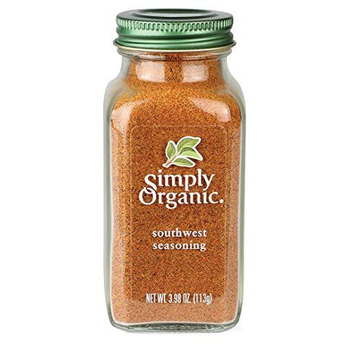 Simply Organic Southwest Seasoning, Certified Organic | 3.98 oz (Best South Indian Restaurant In Orlando Fl)