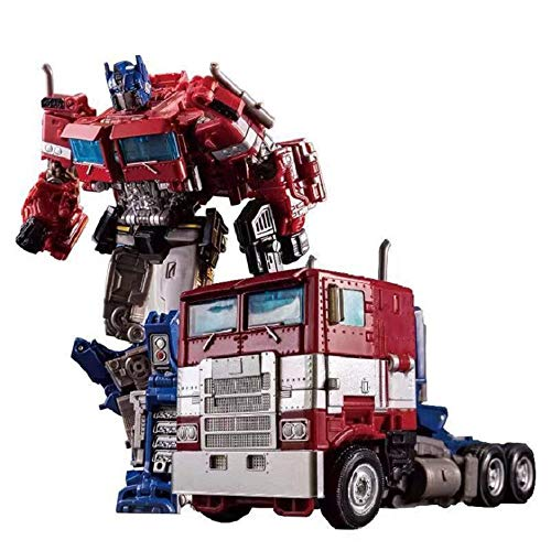 BHNACM Carácter Figura De Acción Transformers Comandante Olímpica Star Commander Deformable Colección Animada Modelo Estatua Decoratio A