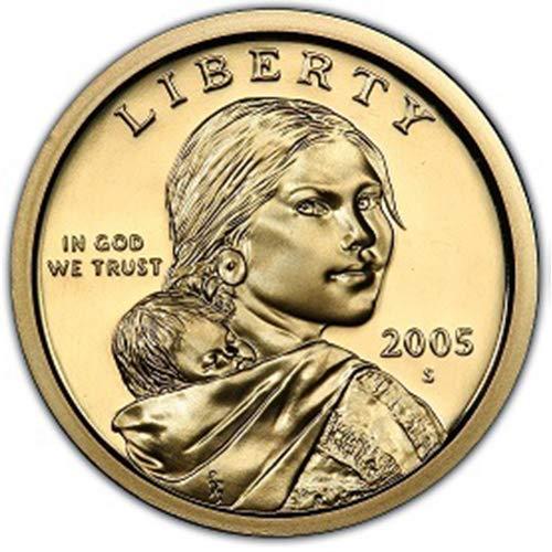 2005 S Proof Sacagawea Dollar Choice Uncirculated US Mint