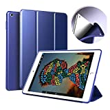Trifold Stand Case for iPad Air 3 Generation 10.5 (2019) and iPad Pro 10.5 (2017),Ultra Slim Lightweight Stand Smart with Auto Sleep/Wake,Soft Back Drop Protection Against Scratches dust Cover-Blue