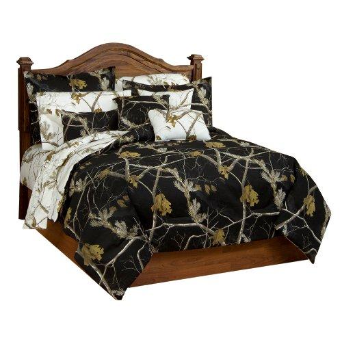 Realtree AP Black Comforter/Sham Set, King