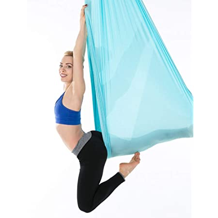 Yaegoo Aerial Yoga Swing Set Antigravity Ceiling Hanging Yoga Sling Wide Flying Yoga Inversion Tool Yoga Hammock Swing