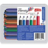 BIC Great Erase Grip Low Odor Dry Erase Marker, Fine Point, Assorted Colors, 30-Count