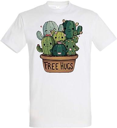 Pampling Soft Hugs - Cactus - Free Hugs, Camiseta Hombre