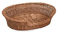 Handcrafted sturdy basket Environmentally friendly External approx size 85cm x 66cm x 27cm Approx base size 70cm x 52cm
