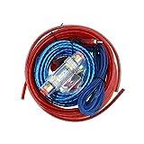 IENPAJNEPQN Altavoces Car Audio Cable Car Audio instalación de cableado Kit de Cable Subwoofer Cable de alimentación del Amplificador del Altavoz de instalación Línea H6F9 (Color : A)