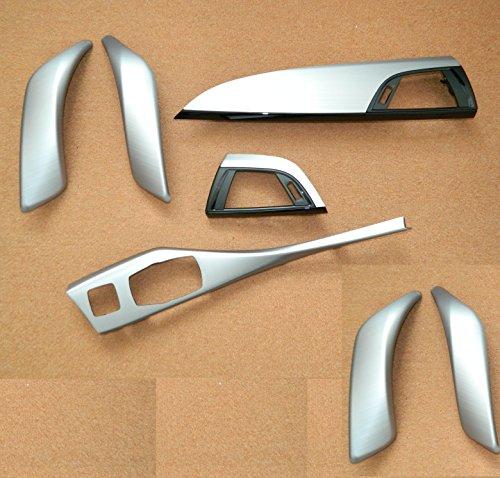 Dekorleisten Interieurleisten Alu gebürstet Struktur Folien passend für 1er BMW F20 F21