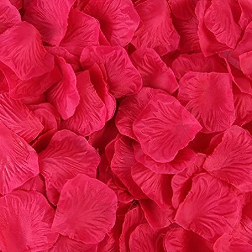 Ranuw 2000 Pcs Artificial Rose Petals Wedding Petalas Colorful Silk Flower Accessories 1