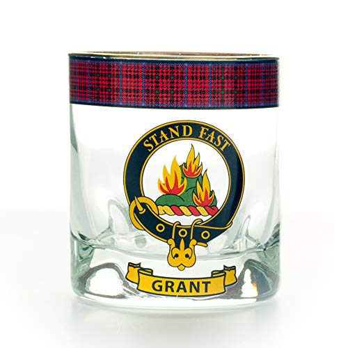 Gretna Green Grant Clan Whisky Glas