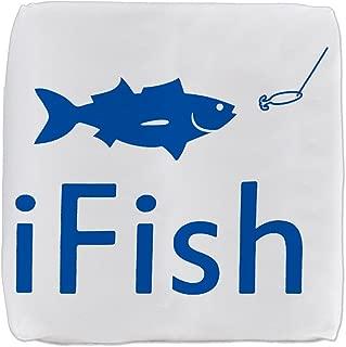 13 Inch 6-Sided Cube Ottoman iFish Fishing Fisherman