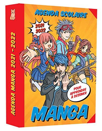 Mon agenda scolaire Manga pour apprendre à dessiner 2021-2022