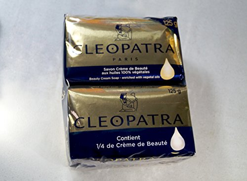 Cleopatra Beauty Cream Seife Packung mit 4 (4x125g)