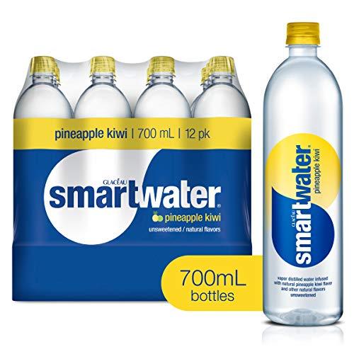 smartwater Pineapple Kiwi, Vapor Distilled Premium Bottled Water,...