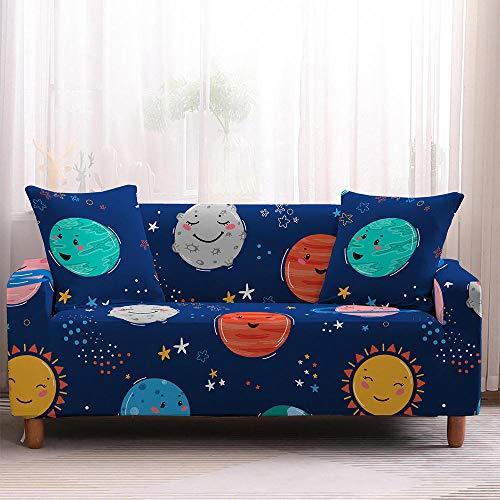 Copridivano elasticizzato per proteggere mobili cartoni animati con elastico per divano divano componibile e poltrona-4-Seater_Color2