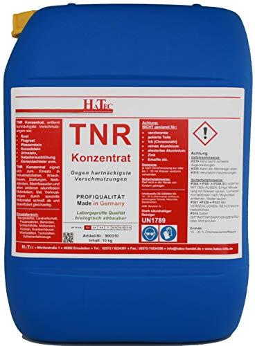 HaTec Urinsteinentferner, TNR 10-kg gegen hartnäckigste Verschmutzung, Flugrostentferner, Wassersteinentferner, Kesselsteinentferner, Rostentferner, Bootrumpfreiniger