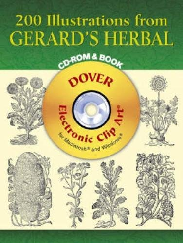 Compare Textbook Prices for 200 Illustrations from Gerard's Herbal CD-ROM and Book Dover Electronic Clip Art  ISBN 9780486996585 by John Gerard