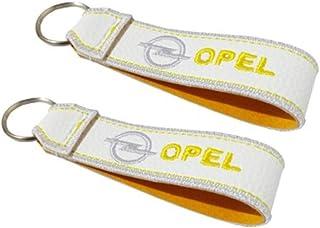 Opel doppelseitiger Schlüsselband Weiss (1 Stück)