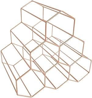 Wine Racks - Nordic Creative Geometric Wine Rack Metal Simple Household Grape Restaurant Living Room Bar Cabinet - Racks Refrigerator Shelf Holders Metal Island Wine LockableModern B