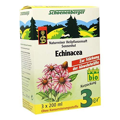 ECHINACEA SAFT Schoenenberger Heilpflanzensä 3X200 ml