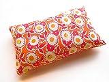 Nakpunar Emery Sewing Pincushion Filled with Abrasive Emery Sand - Handmade in USA (2'x3', Pink & Orange)