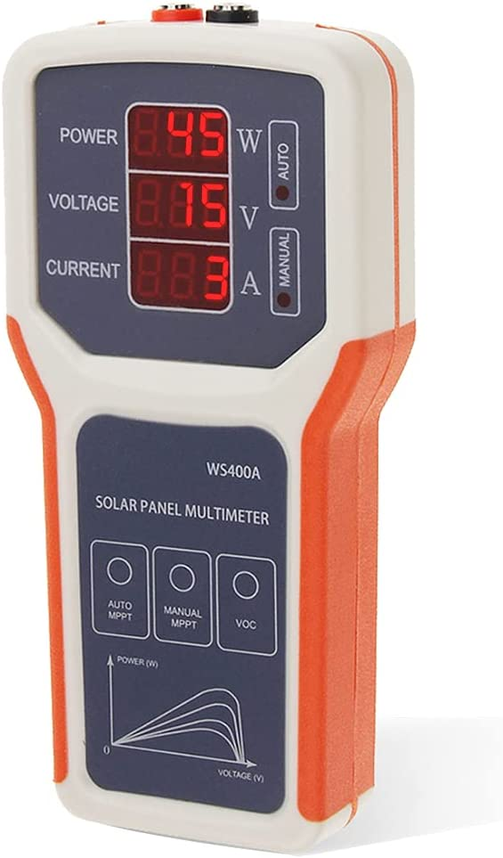 Topics on lowest price TV FROGBRO Photovoltaic Panel Multimeter MPPT Tester Solar Op
