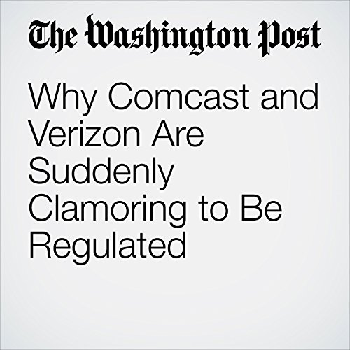 Why Comcast and Verizon Are Suddenly Clamoring to Be Regulated copertina