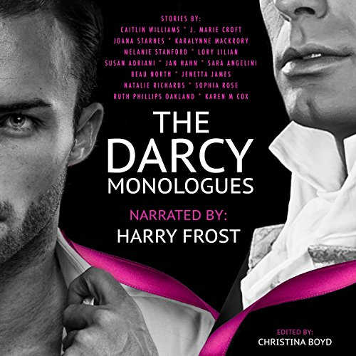 The Darcy Monologues audiobook cover art