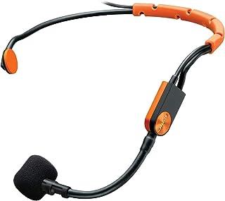 Shure Fitness Headset Condenser Microphone - Sm31Fh-Tqg - Black & Orange