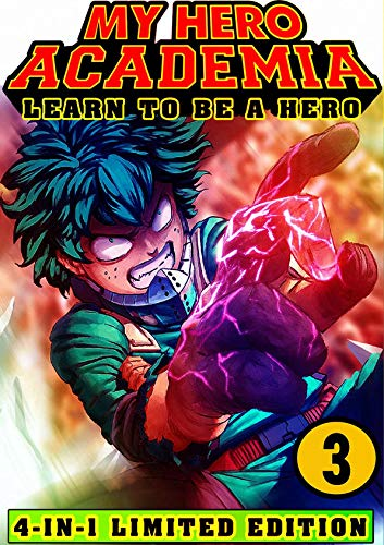 My Hero Academia Learn: Book 3 Collection - Shonen Manga Action My Hero Academia Fantasy Adventures (English Edition)
