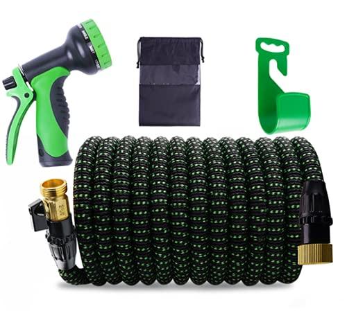High pressure car wash water gun telescopic hose water gun garden garden watering tool set