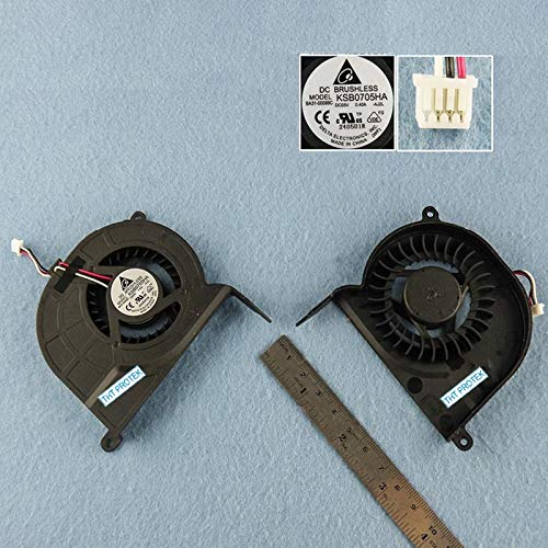 Kompatibel für Samsung RV509 / NP-RV509, NP-RV720 / RV720 Lüfter Kühler Fan Cooler