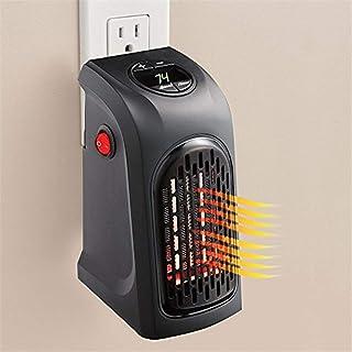 GLJY Calentador Portátil, Calentador De Espacio Personal Enchufable Ventilador De Aire Caliente con Termostato Y Temporizador para Escritorio De Oficina