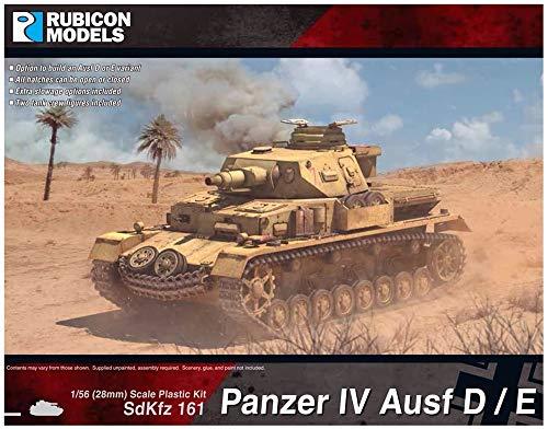 ルビコンモデル 1/56 ドイツ軍 4号戦車 D/E型 プラモデル RB0076