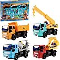 4-Pack CYFIE Pull Back Vehicle Toys