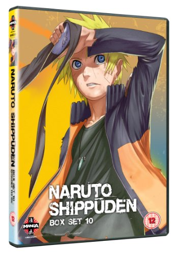 Naruto Shippuden Box Set 10 [Reino Unido] [DVD]: Amazon.es ...