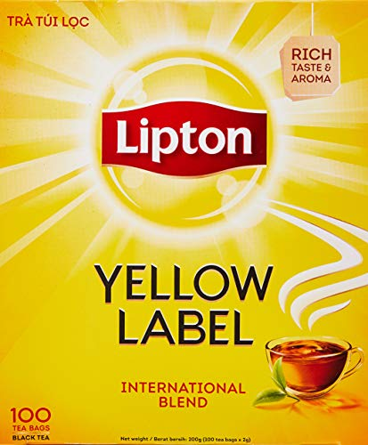 Lipton Yellow Label Tea Bags 100ct, International Blend