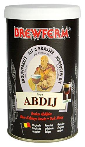 Radis et Capucine Extrait Malt 9L bière Brune Abbaye pour Brassage DIY, Multicolore, 10x10x18 cm