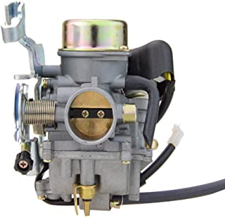 GOOFIT PD30JK-1 30mm Carburetor for Sahara Krusher CVK 250cc 260cc 300cc Carb ATV Quad Bike